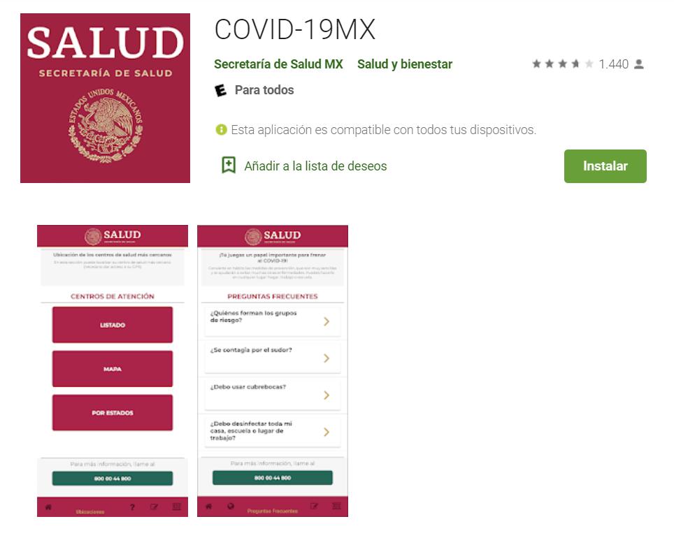 app covid-19mx