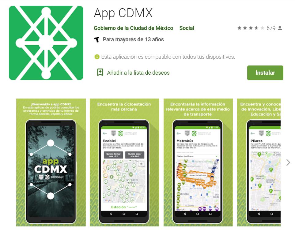 app cdmx