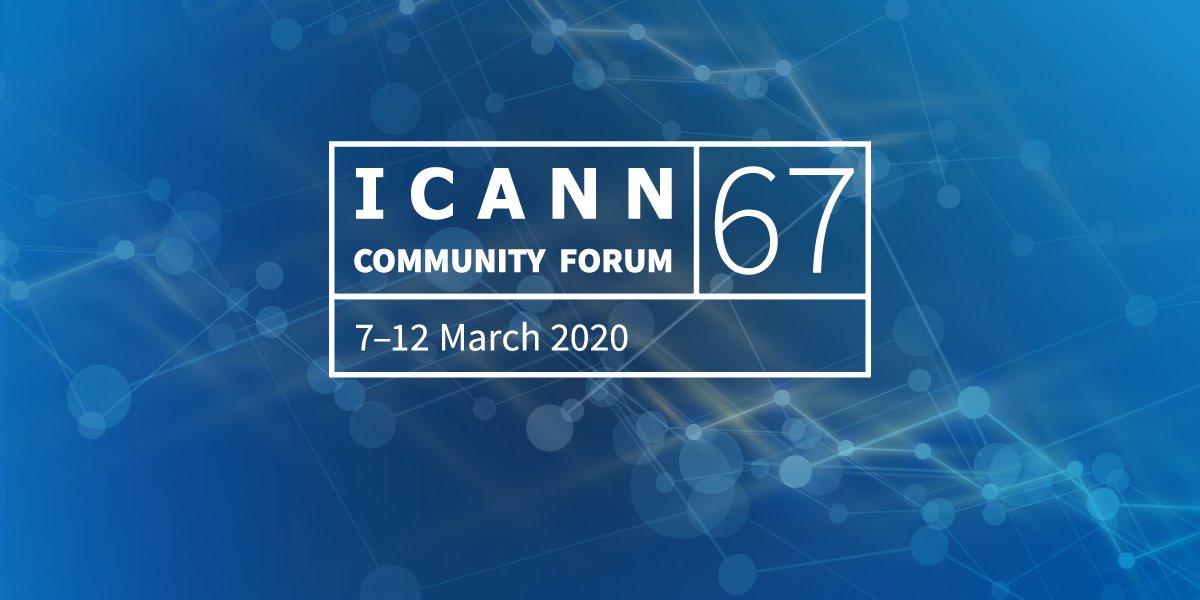 Reunión ICANN 67: Primera reunión pública virtual